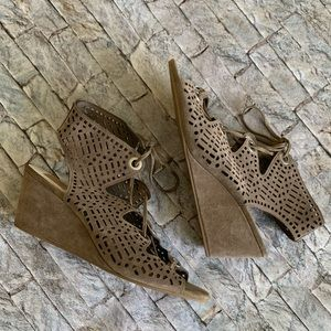Dolce Vita Perforated Wedges